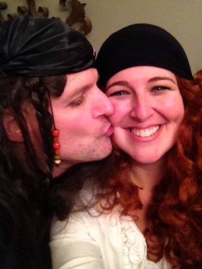 Piratey Kiss